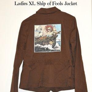 Jackets & Blazers - XL Grateful Dead Terrapin Ship Jacket